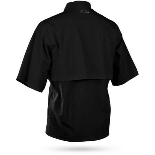 Sun Mountain Stratus Short Sleeve Pullover - Black