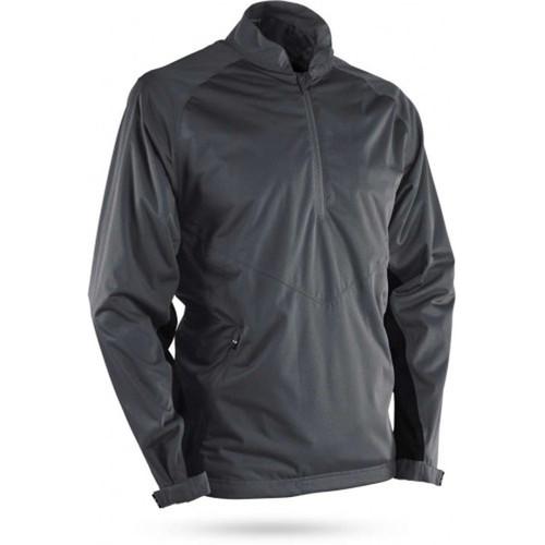 Sun Mountain RainFlex Long Sleeve Pullover - Steel