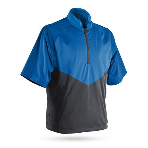 Sun Mountain RainFlex Elite Short Sleeve Pullover - Royal