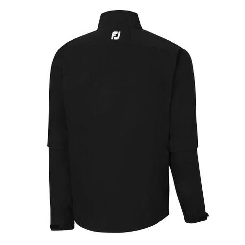 FootJoy FJ Hydrolite Rain Jacket - Black w/ Zipoff Sleeves (23800)*