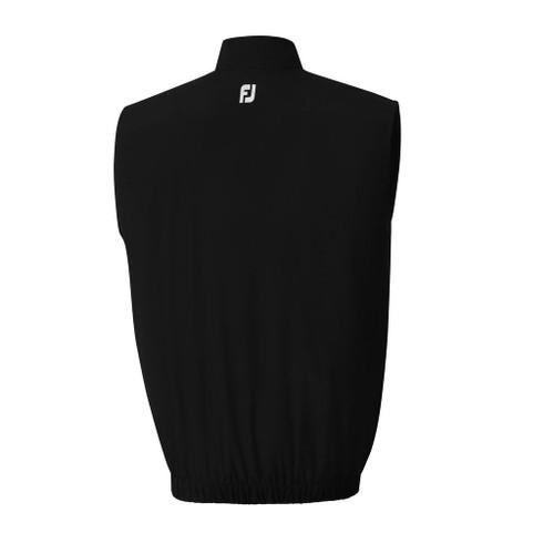 FootJoy Half Zip Windshirt Vest - Black (23521)