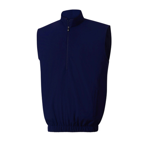 FootJoy Half Zip Windshirt Vest - Navy (23522)
