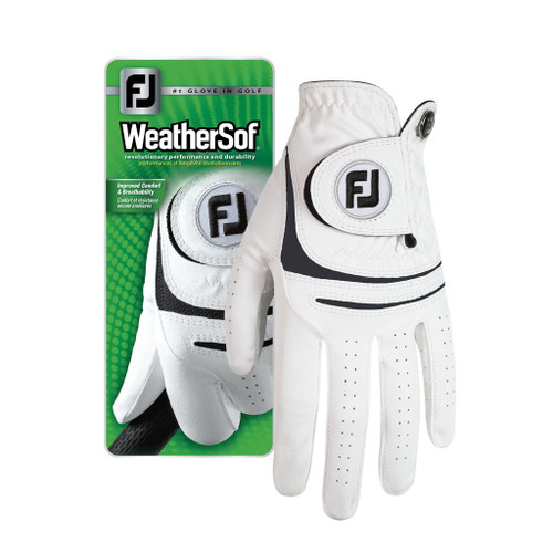 FootJoy Mens WeatherSof Golf Gloves