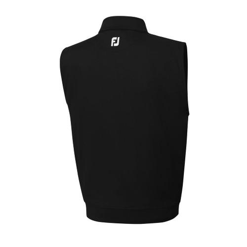 FootJoy Performance Half-Zip Vest - Black (23014)