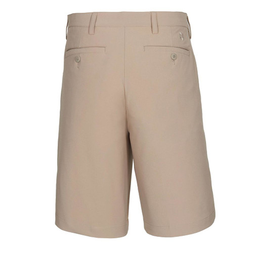 FootJoy Pleated Performance Golf Shorts - Khaki (24075)