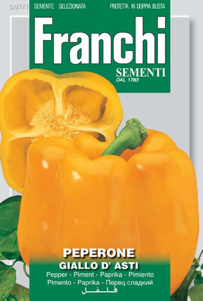 Pepper Giallo d'Asti (97-1)