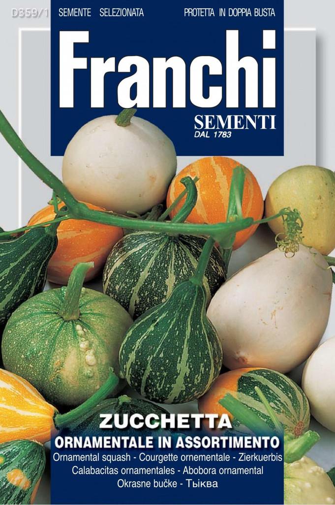 Zucchetta Ornamentale Mix (359-1)