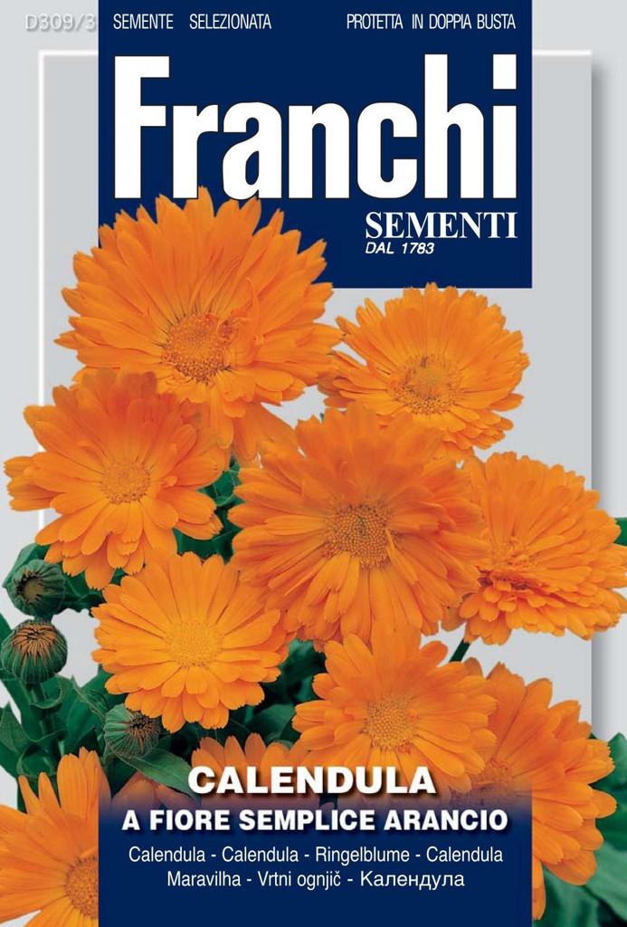 Calendula Single Orange (309-3)