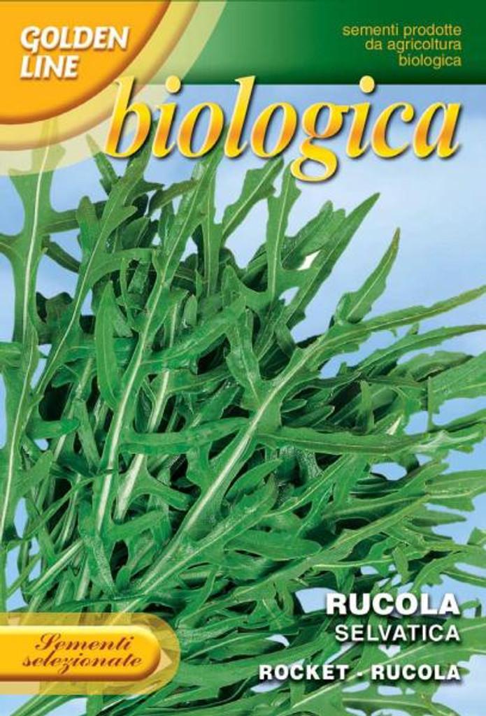 Arugula/Rucola Selvatica-Wild Arugula Organic (115-5B)