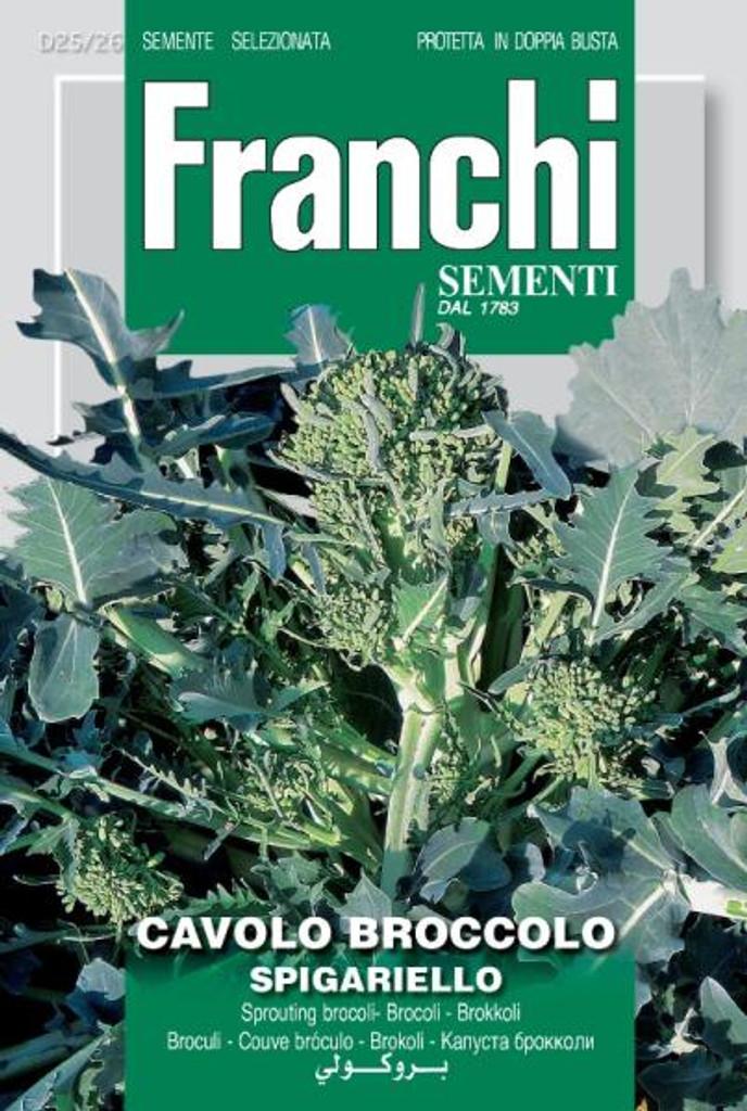 Cavolo Broccolo Spigariello Franchi (25-26)