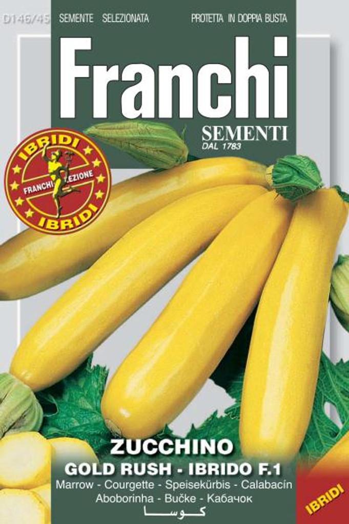 Zucchini Hybrid Gold Rush (146-45)