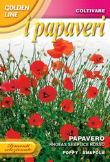 Poppy Rhoeas Single Red (341-2)