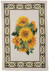 'Etruscan Garden' Girasole Kitchen Towel