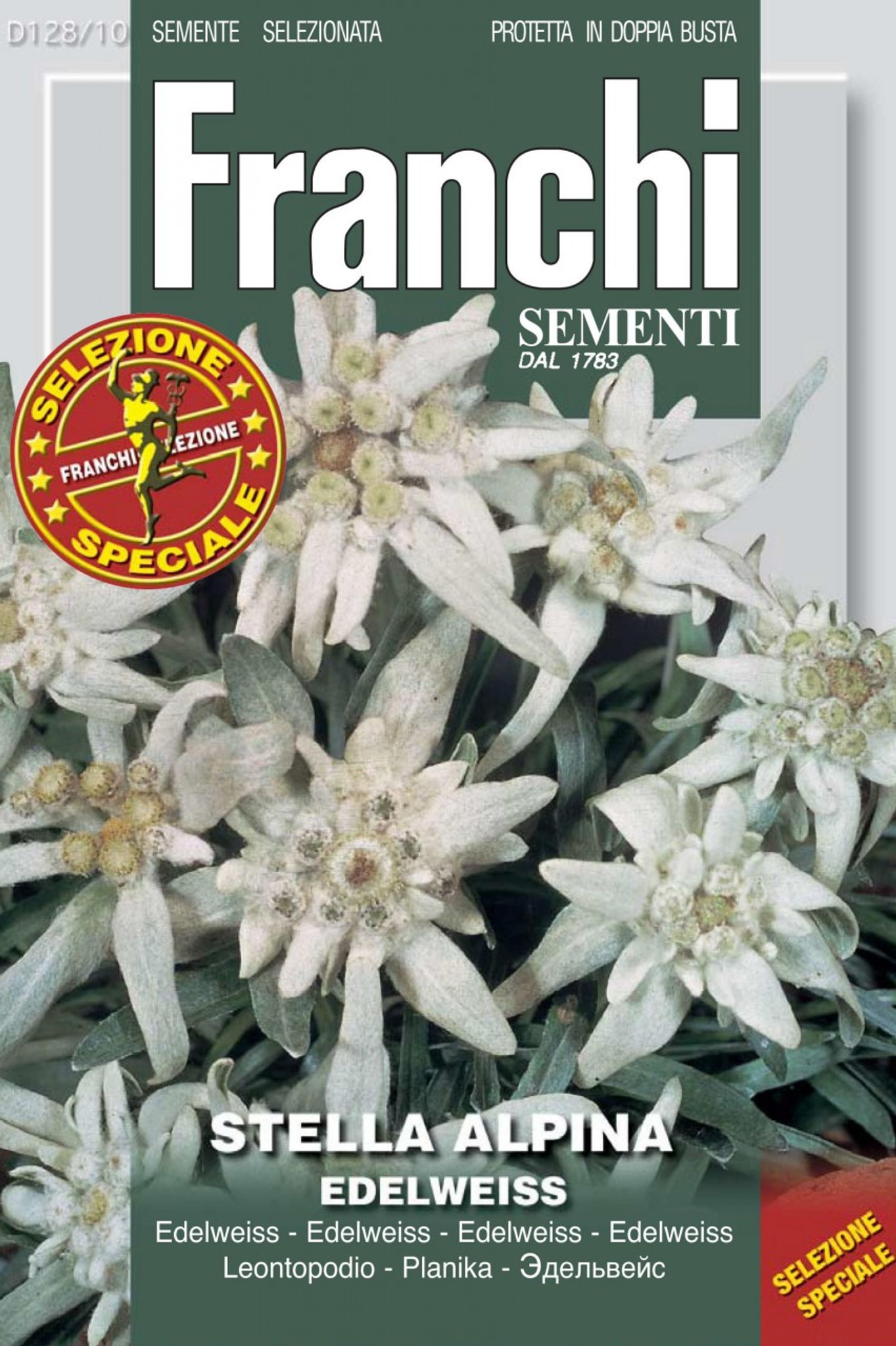 Stella Alpina Or Edelweiss 128 10 Seeds From Italy