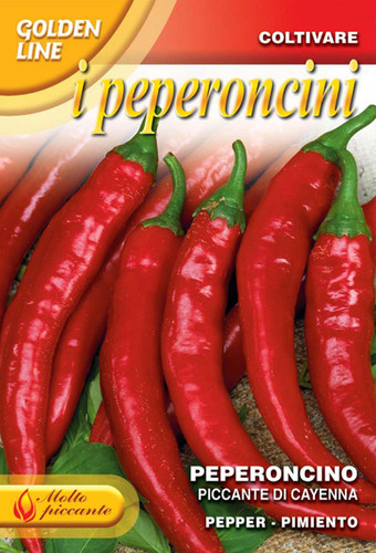Pepper Piccante Cayenna (97-11)