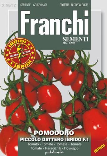 Tomato Muscato Piccolo Dattero Ibrido / Datterino (106-119)