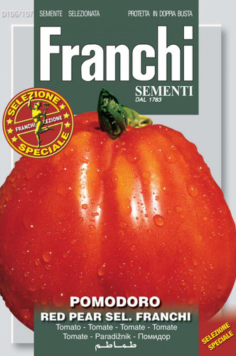 Our bestselling tomato and for good reason! Huge, meaty, flavorful, few seeds, a good producer....so many attributes make this our #1 customer favorite.