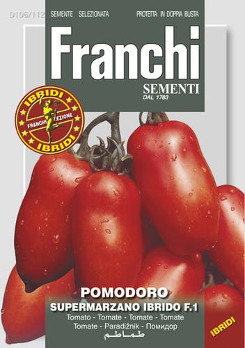 Tomato Follia / Supermarzano F1  (106-112)