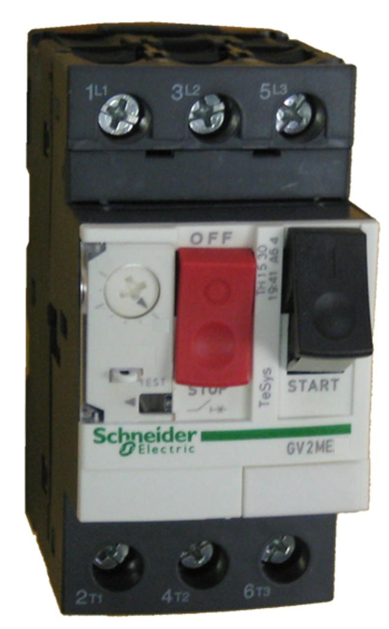 Aux N//O N//c Telemecanique GV2-ME06 motor de arranque 1-1.6A
