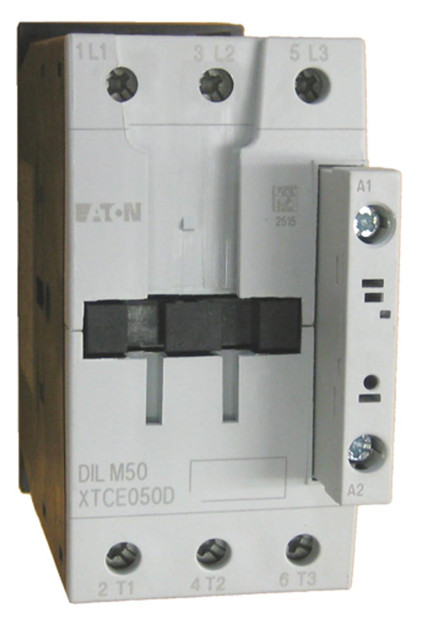 C Suppressor 50  Contactor 3 pole 80 amp  240V Coil DIL M50  Moeller DIL M