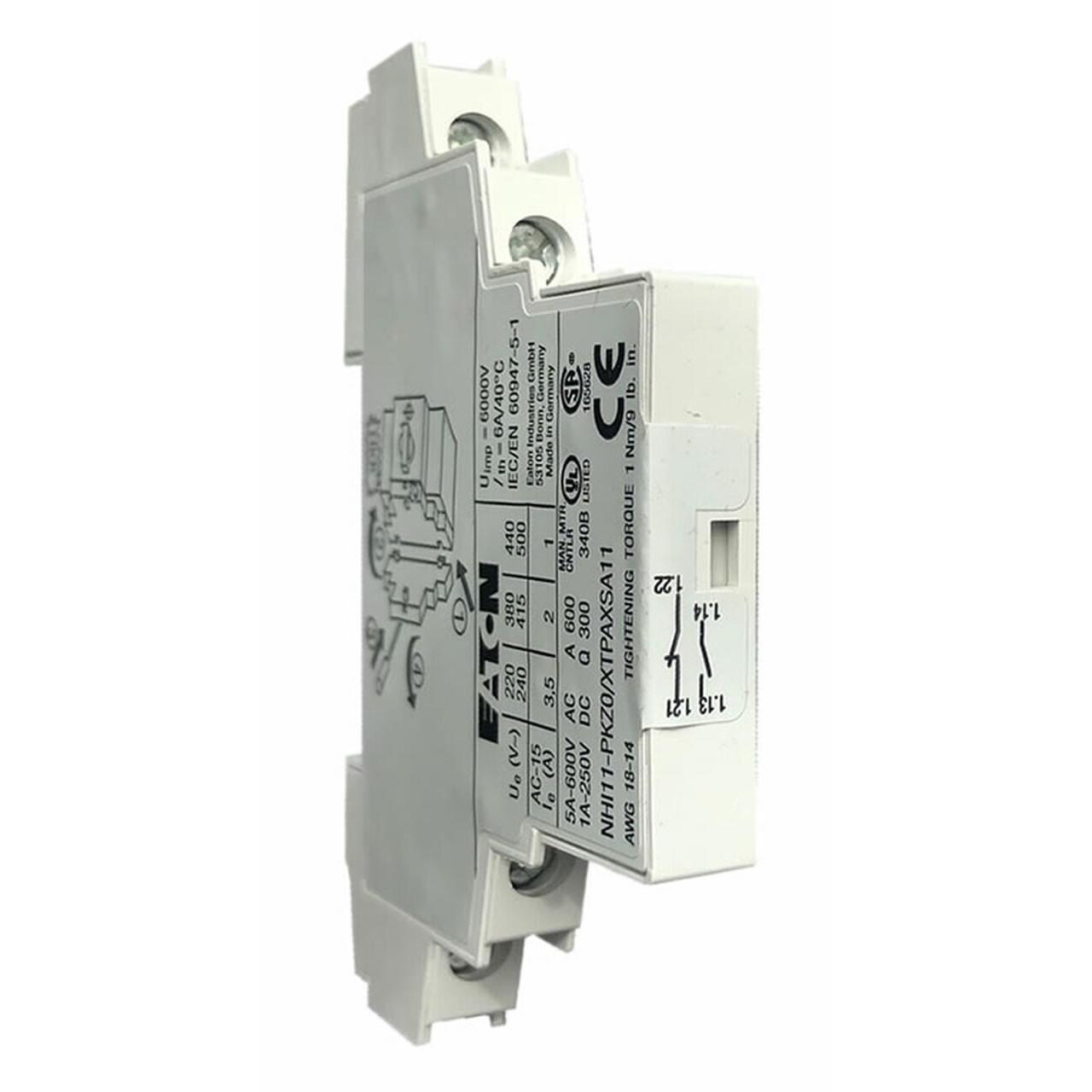 Eaton XTPAXSA11 auxiliary contact
