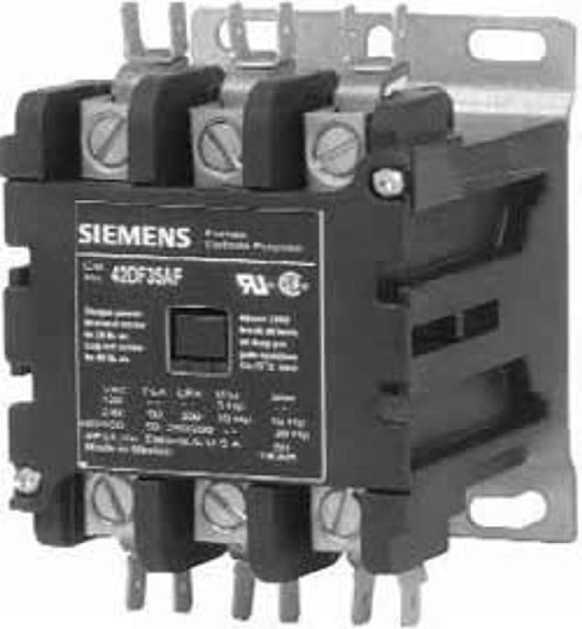 Furnas 42BF15AF 30 AMP DP contactor   2 pole 120 volt coilKent Industries Inc.