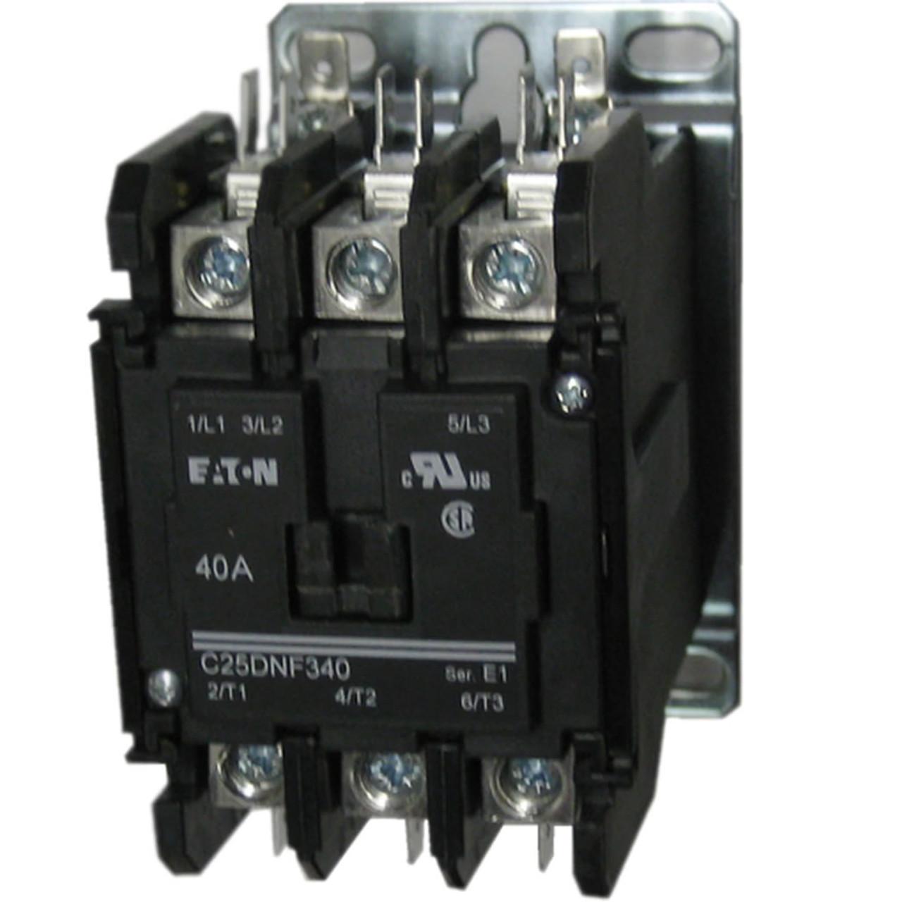 Eaton / Cutler Hammer C25DNF340 definite purpose contactor