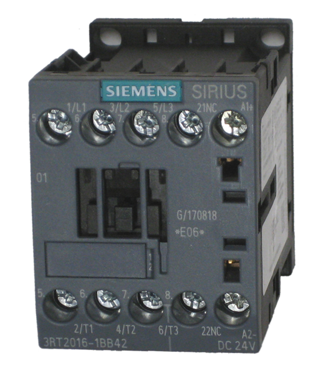 Siemens 3RT2016-1BB42 electrical contactor