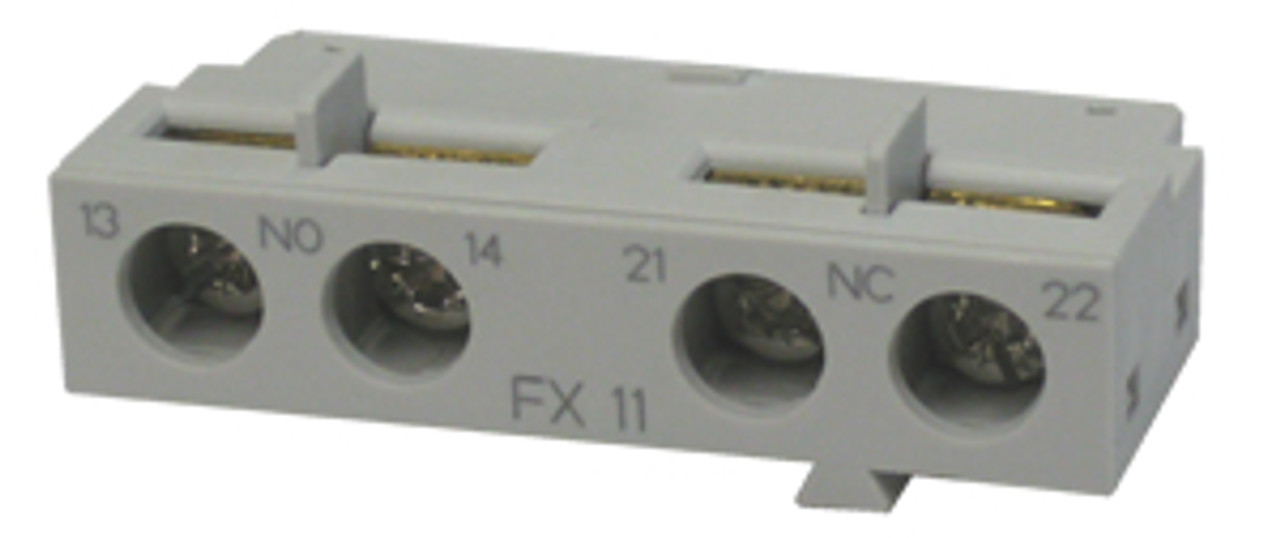 Benshaw RMSP-FX11 front mounted auxiliary block