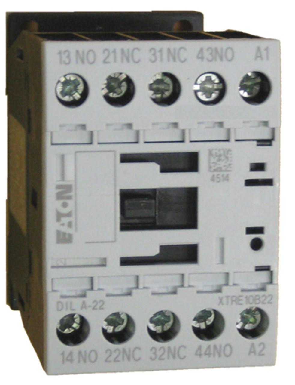 Eaton/Moeller DILA-22 120 volt control relay