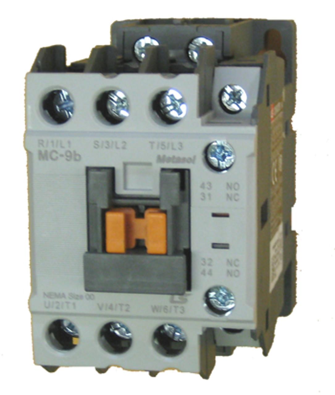 [SCHEMATICS_4LK]  LS MC-9B-AC240 Metasol 9 AMP contactor | 240 volt AC coil | 240 Volt Contactor Wiring Diagram Schematic |  | Kent Industries Inc.