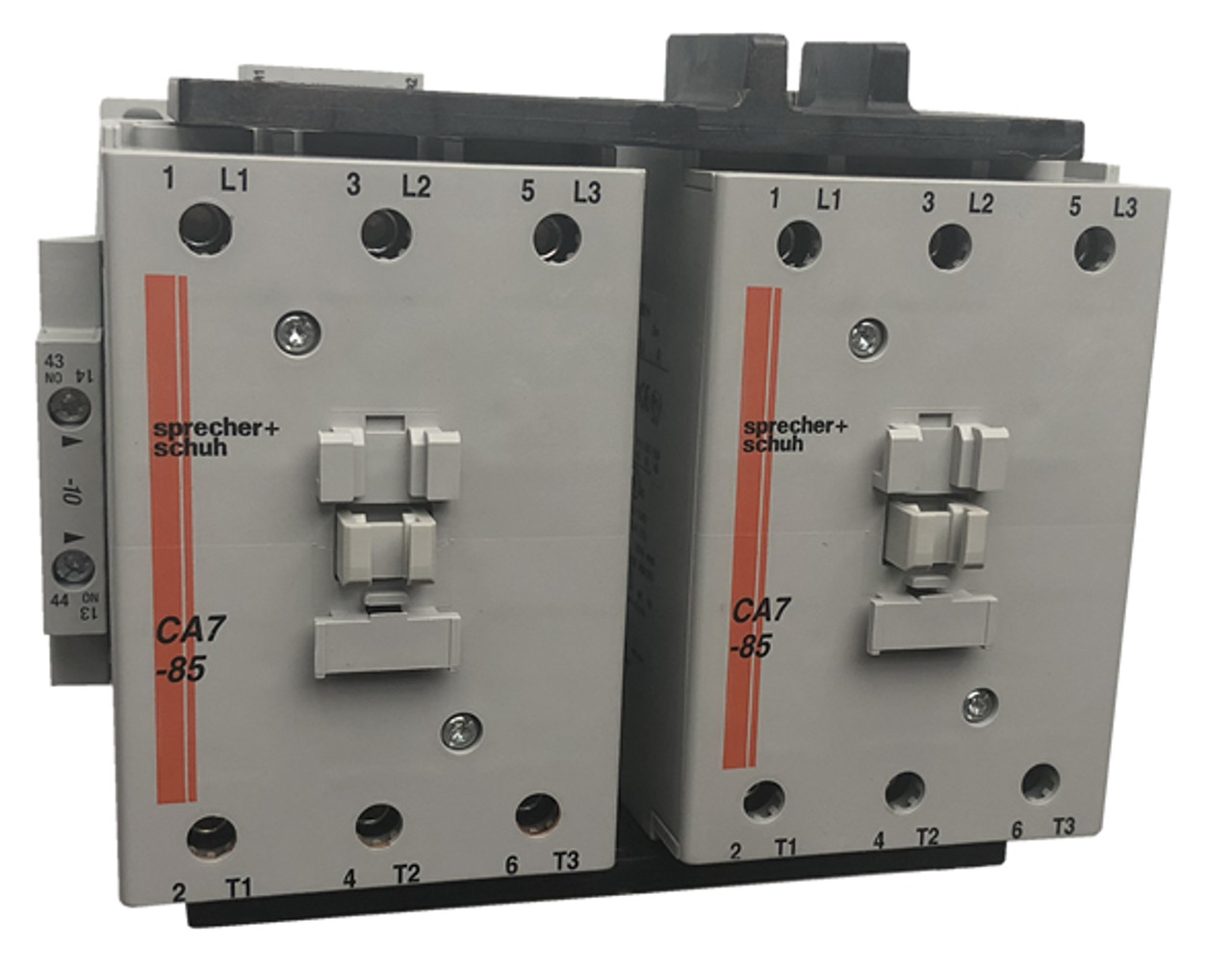 Sprecher + Schuh CAU7-85-22-220W reversing contactor