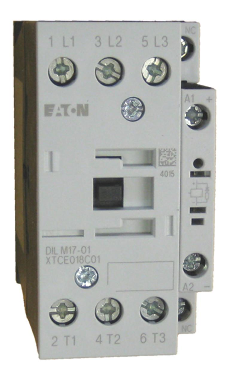 Eaton XTCE018C01D contactor