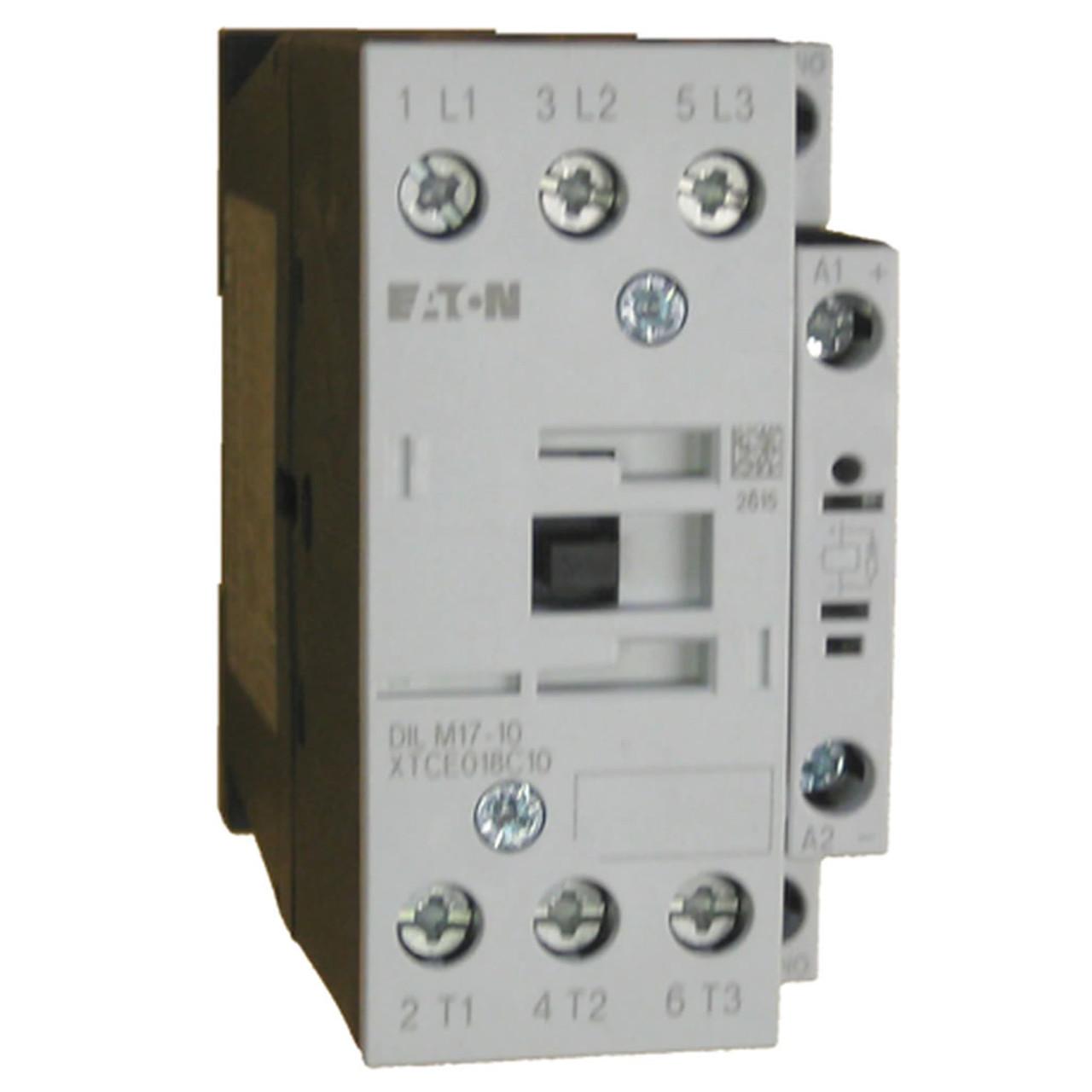 Eaton XTCE018C10H contactor