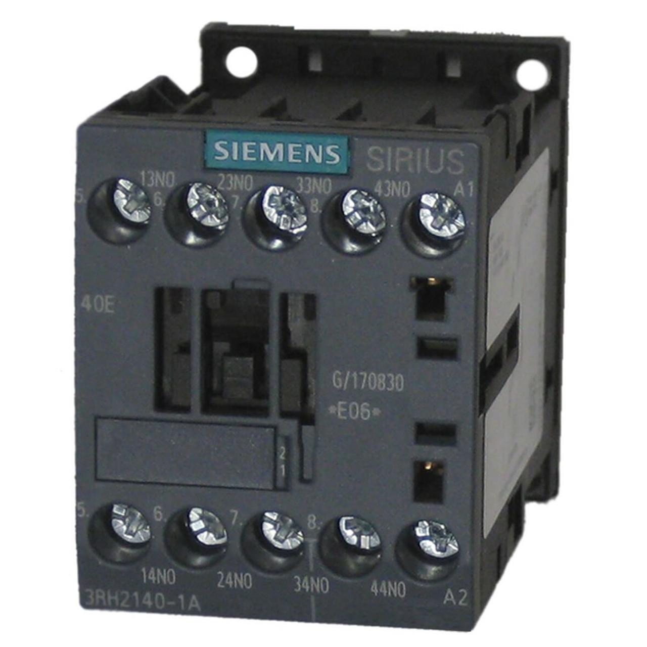 Siemens 3RH2140-1BP40 AC Control Relay
