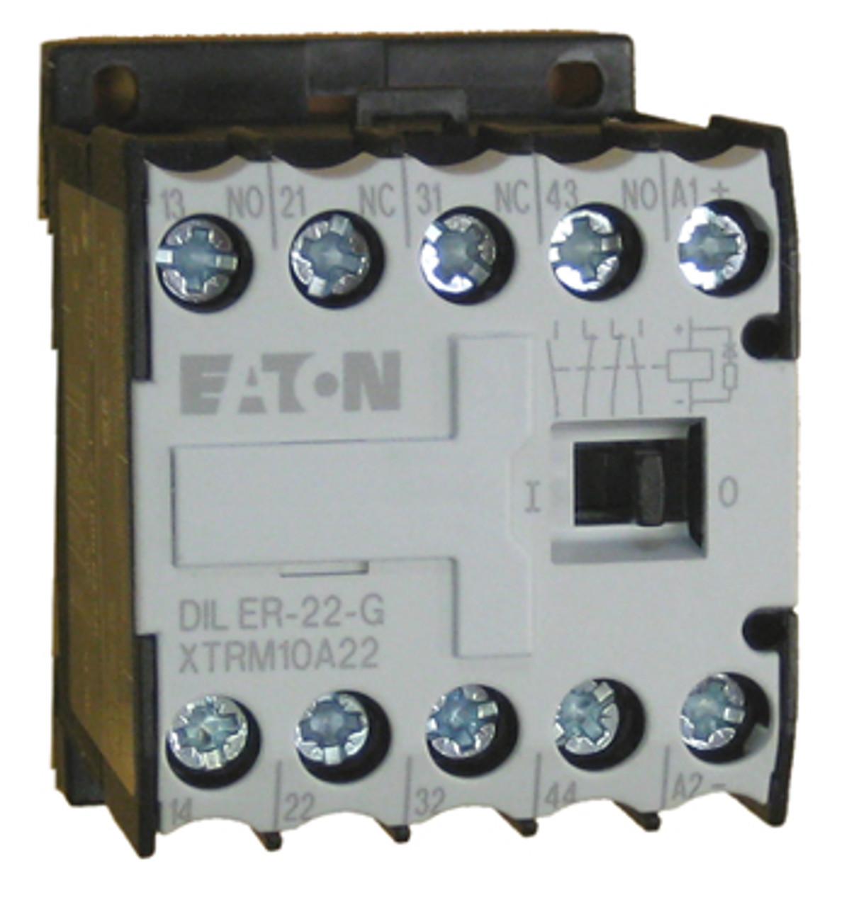 Eaton/Moeller DILER-22 (110vDC) relay