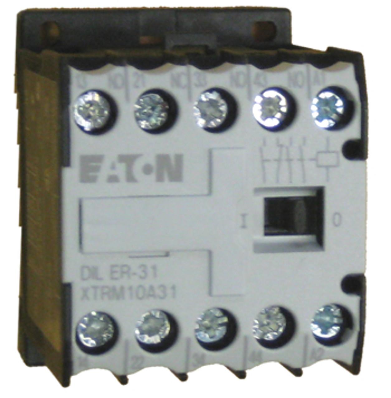 Eaton/Moeller DILER-31-G (110vDC) relay