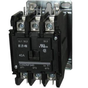 Eaton C25DNF340 3 Pole 40 AMP Contactor   Kent IndustriesKent Industries Inc.