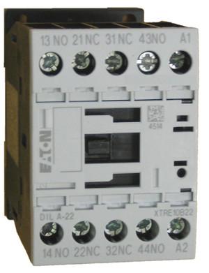 Eaton/Moeller DILA-22 24 volt control relay