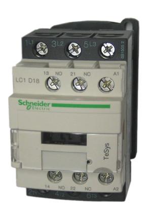 Schneider Electric LC1D18B7 side label