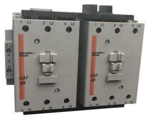 Sprecher + Schuh CAU7-85-22-120 reversing contactor