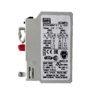 WEG BCXMF01 auxiliary