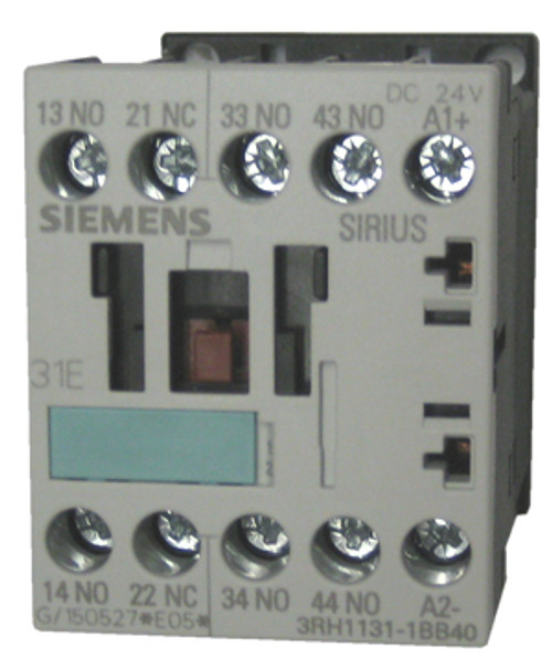 Siemens 3RH1131-1BB40 4 pole relay