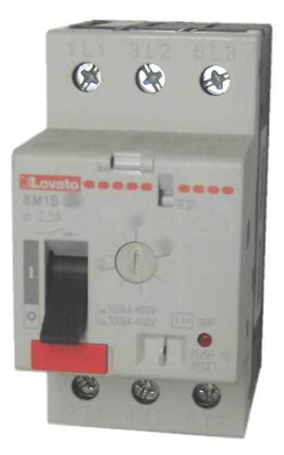 Lovato 11SM1B28 motor protector
