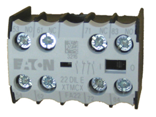 Eaton/Moeller 04DILE auxiliary contact