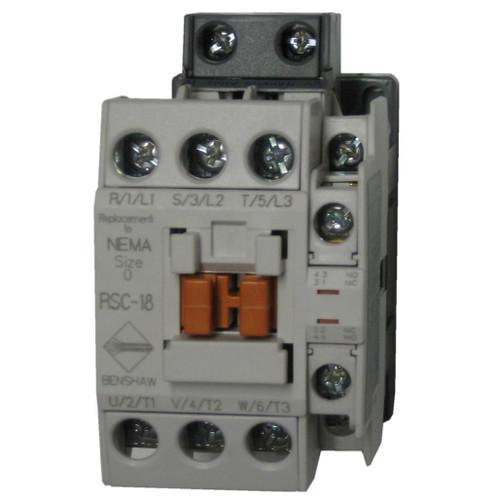Benshaw RSC-18-6AC120 contactor