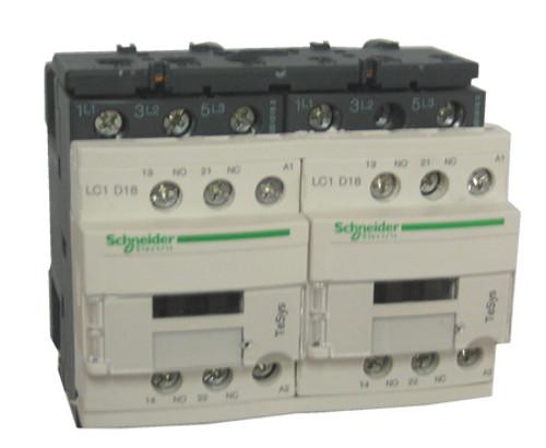 Schneider Electric LC2D18B7 reversing contactor