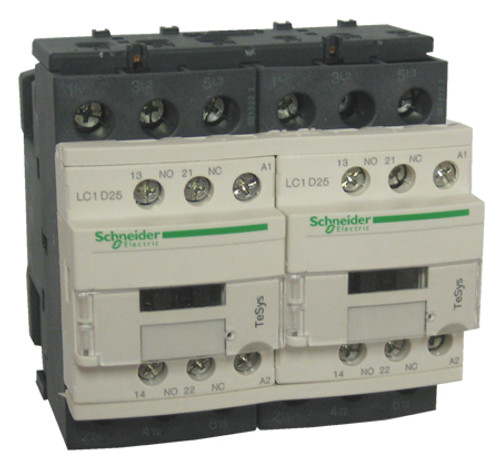 Schneider Electric LC2D25F7 reversing contactor