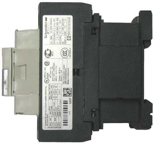 Schneider Electric LC1D32B7 side label