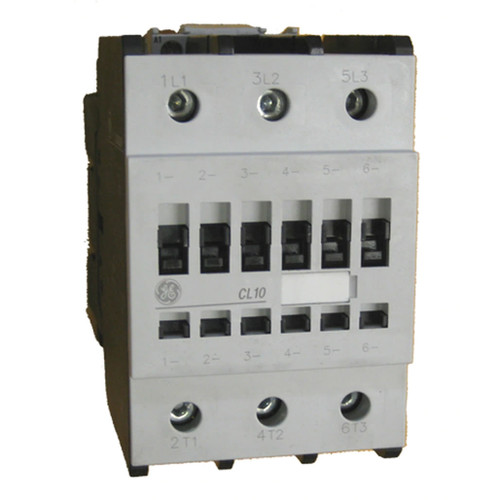 GE CL10 3 pole 96 AMP contactor
